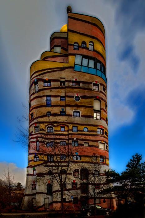 Waldspirale в Германии.