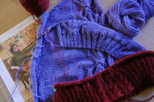 Cabled Sweaters