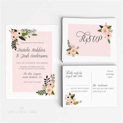 Printable Wedding Invitation Suite Printable   Wedding