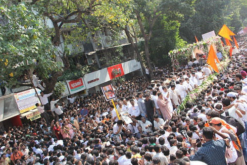 Last Journey Shree Balasaheb Thackeray by firoze shakir photographerno1