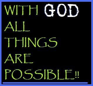 With God All Things Are Possible God Quotes Graphics99com