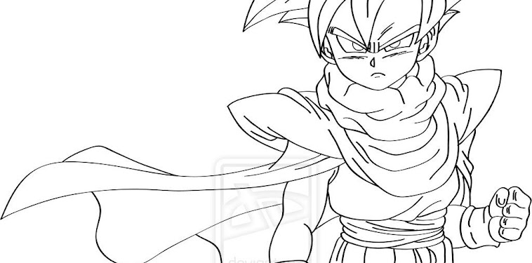 Full Body Dragon Ball Z Characters Drawings