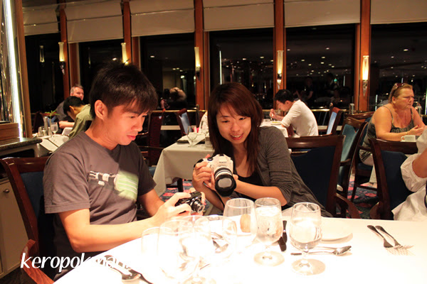 Bloggers at work