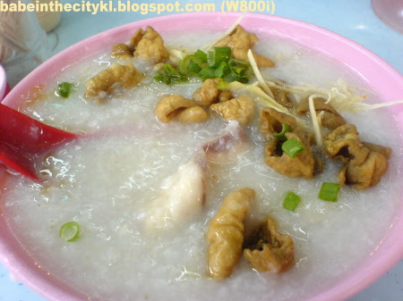 hon kee fish and pig intestine porridge