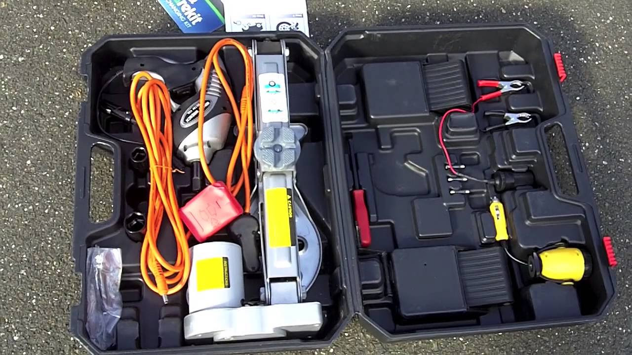 The Sparekit Tire Changing Kit Review Of Spare Kit For Car Owners Youtube