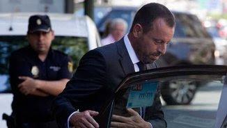 L'expresident del Barça Sandro Rosell