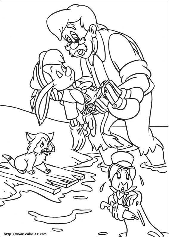 Pinocchio Disegni Per Bambini Da Colorare