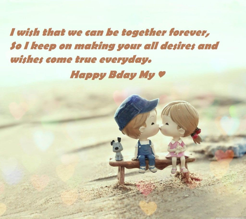 Loving Birthday Wishes For Lover