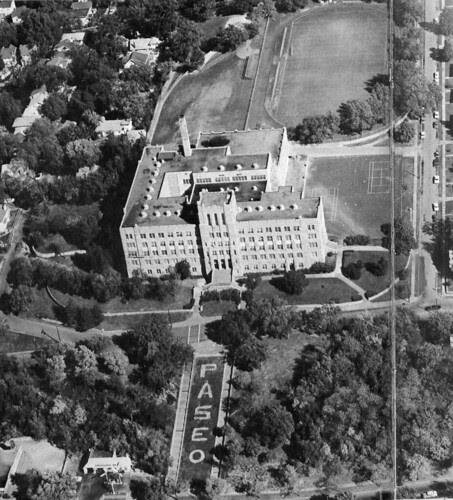 Paseo High School Aerial from 1967 Paseon