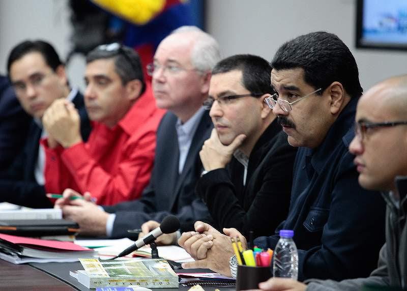 El Presidente de la República, Nicolás Maduro, en Consejo de Ministros.