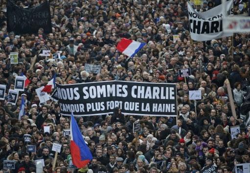 Μεγαλείο!  Πάνω από 3 εκατ. Γάλλοι έγραψαν ιστορία κατά της τυφλής βίας και της τρομοκρατίας – Το Παρίσι πρωτεύουσα του κόσμου