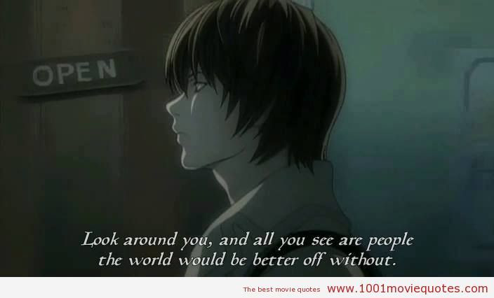 Quotes About Death Note 40 Quotes