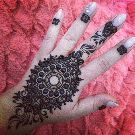 Best 13 Back Hand Unique Mehndi Designs for Party
