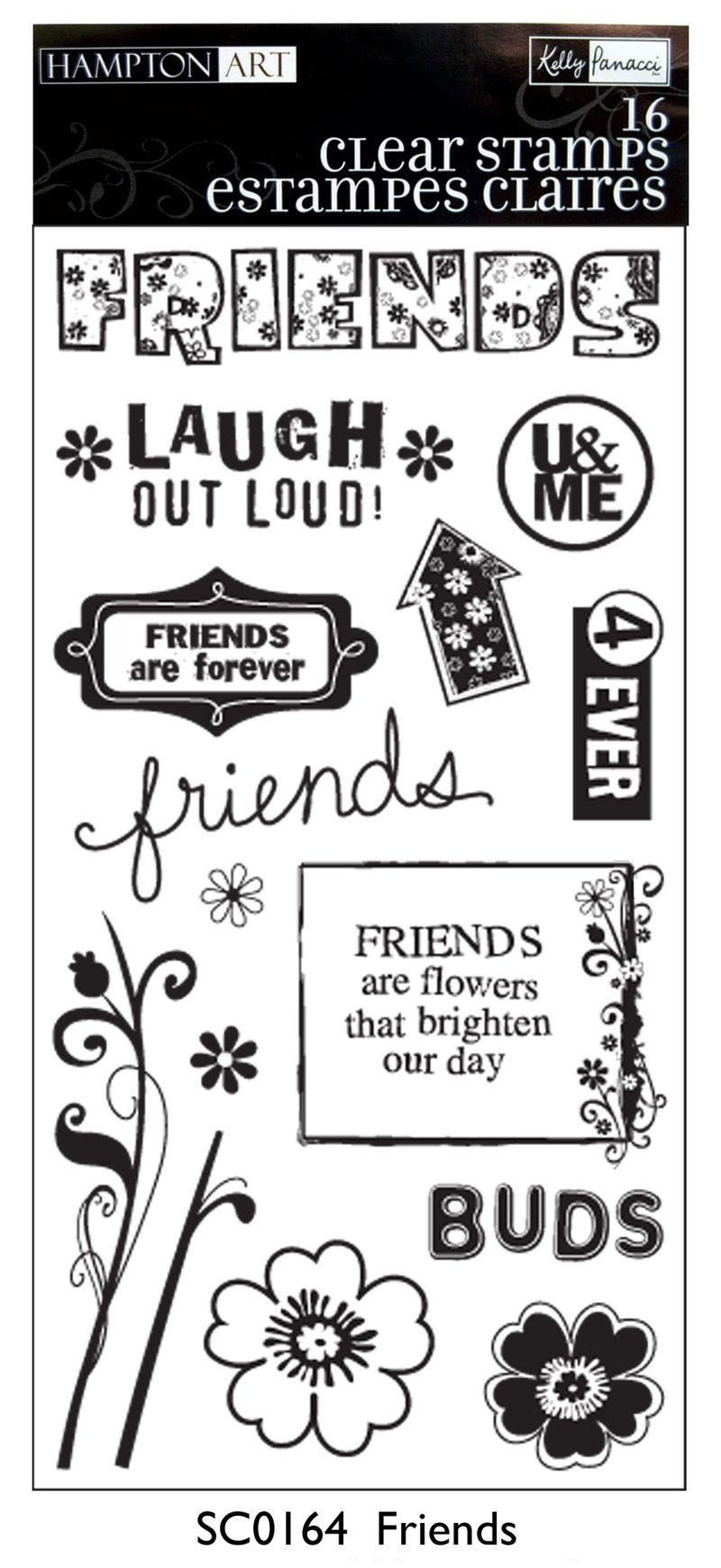 Friends-stamps