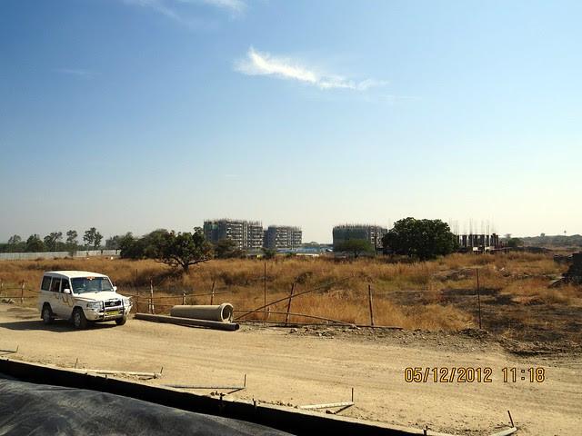 6th & 7th Avenue from 6 Lane Concrete Road - Development in the 1st Year - Kolte-Patil Life Republic Marunji, Hinjewadi - Kasarsai Road, Pune 411057