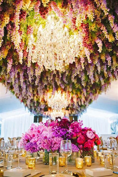 1000  ideas about Hanging Flowers Wedding on Pinterest