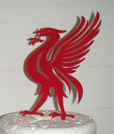 liverpool bird Cake Topper