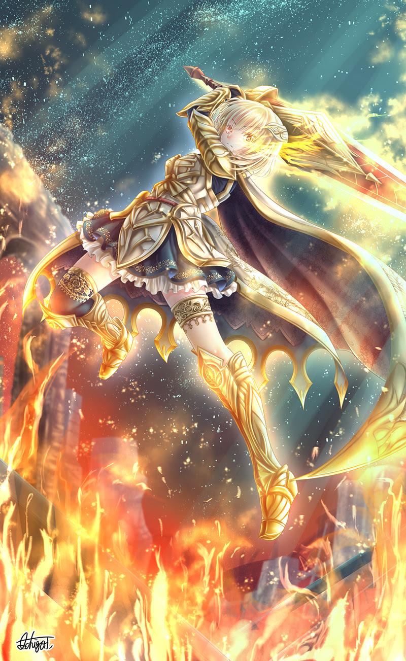 たかなしいちご 天使のアトリエ 光焔の輝き シャルロットさん