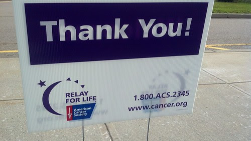 Franklin - Relay for Life: thank you!