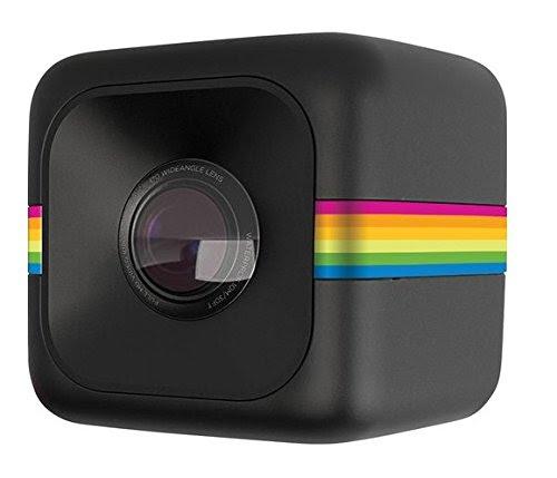Polaroid Cube+ 1440p Mini Lifestyle Action Camera con Wi-fi e stabilizzatore d'immagine (Nero)