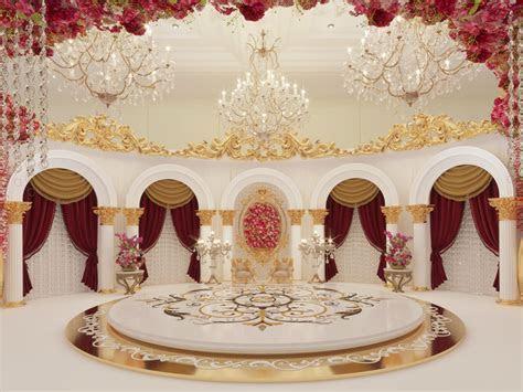 Classic Wedding Stage   Kosha by zaki qureshi at Coroflot.com