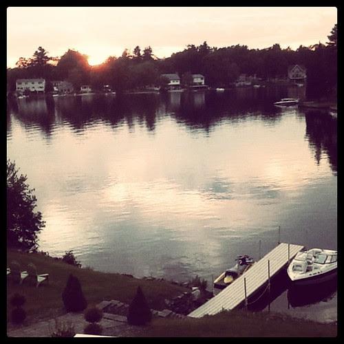 I love this lake