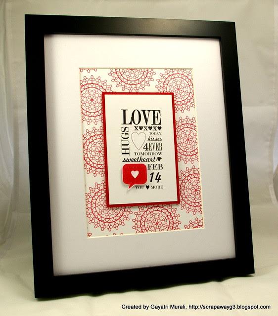 Valentine's frame 2012