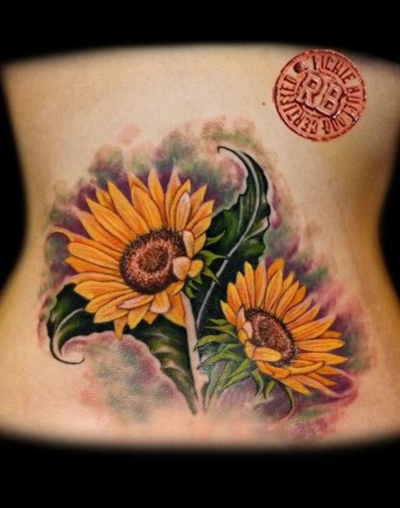 Tatuaje Tribal De Girasol Trucos Para Su Nuevo Tatuaje Tatuajes