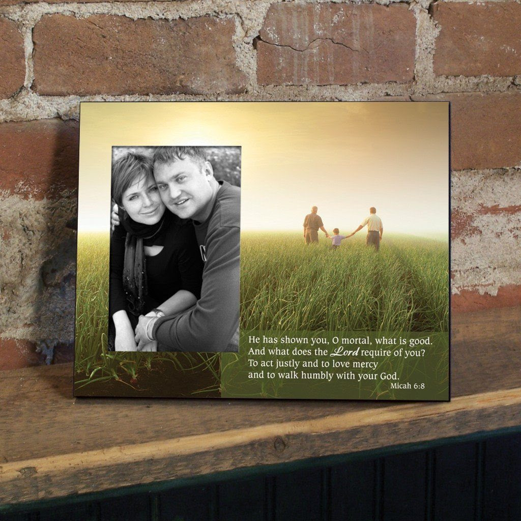 Micah 68 Decorative Picture Frame Holds 4x6 Photo