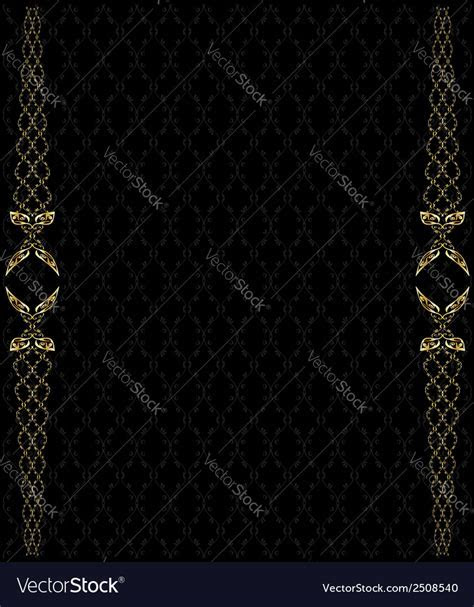 Elegant gold background 2 Royalty Free Vector Image