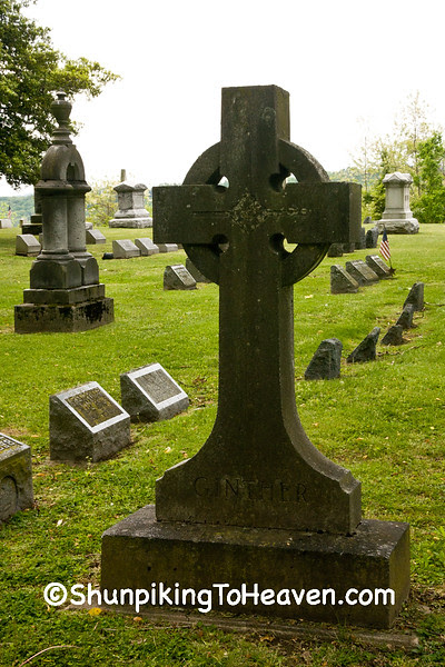 Celtic Cross, Grandview Cemetery, Est. circa 1841, Chillicothe, Ohio