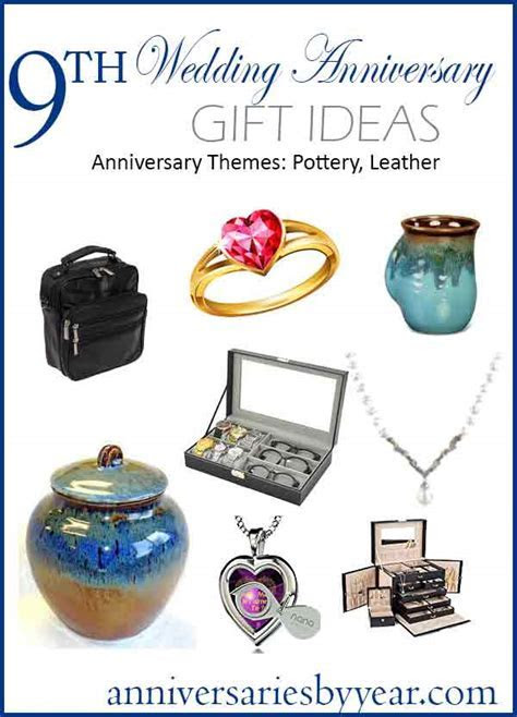 9th Anniversary   Ninth Wedding Anniversary Gift Ideas