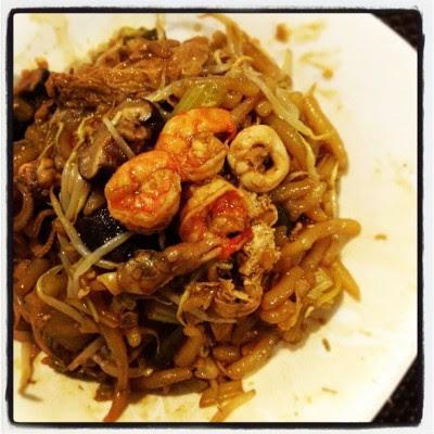 米篩目!:D #dinner  (Taken with Instagram)