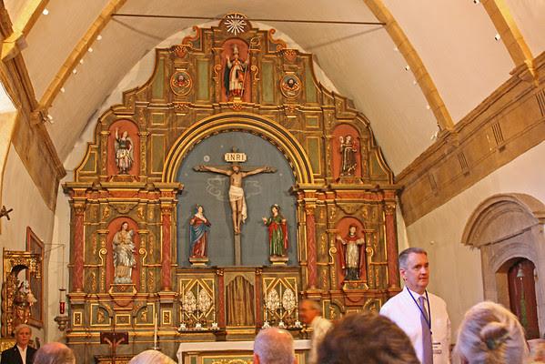 Carmel Mission - reredos