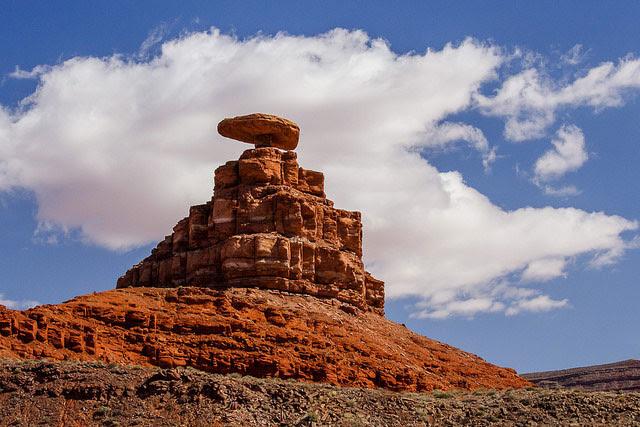 Mexican Hat, on the San Juan                                                           River,                                                           south-central                                                           San Juan                                                           County, Utah