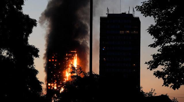 Αποτέλεσμα εικόνας για καταστροφη στο Λονδινο φωτια