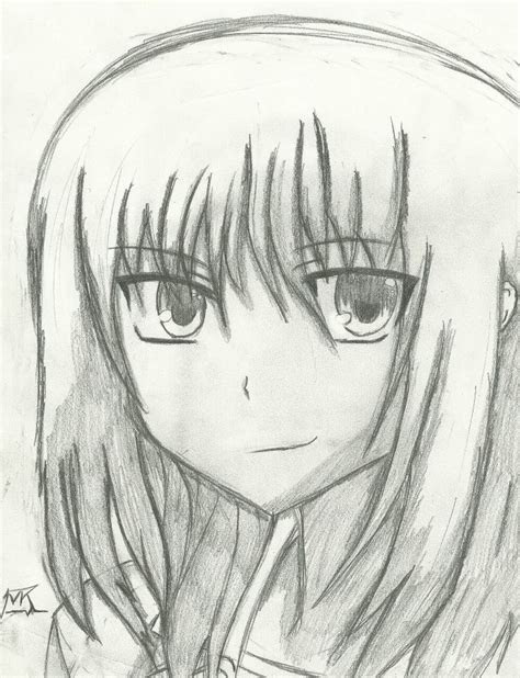anime pencil sketches  beginners  town