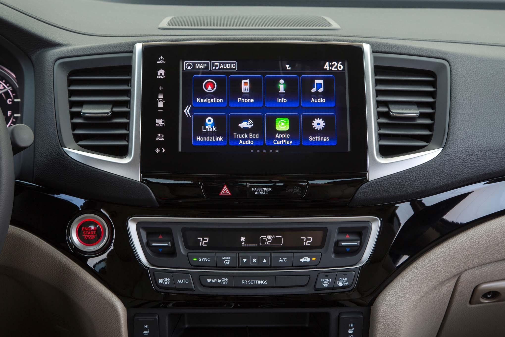 2017 Honda Ridgeline Specifications Review