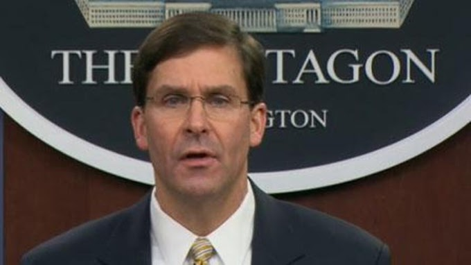 TREND ESSENCE: Esper assures troops after NYT report on Russian bounties
