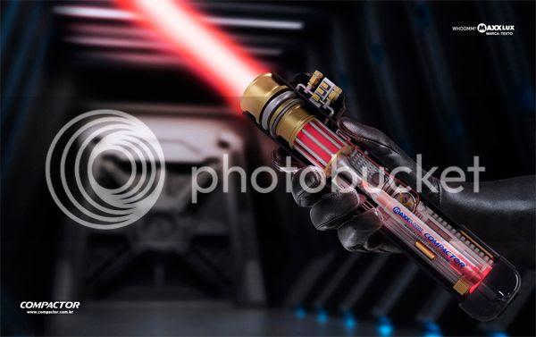 Compactor Cia de Canetas: Darth Vader