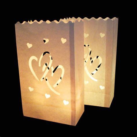 /LotTea Light Paper Lantern Candle Holder Bag For