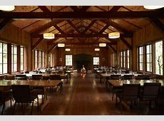Silver Falls Lodge big leaf dining hall   amazing indoor and outdoor areas, all a dream space