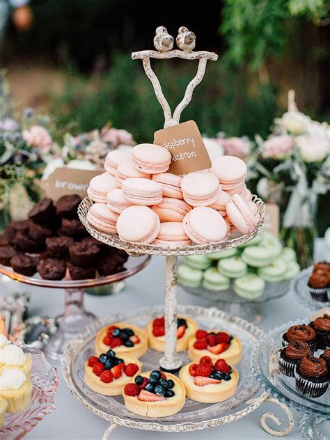 20 Creative Dessert Buffet Ideas   Wedding Food   Dessert