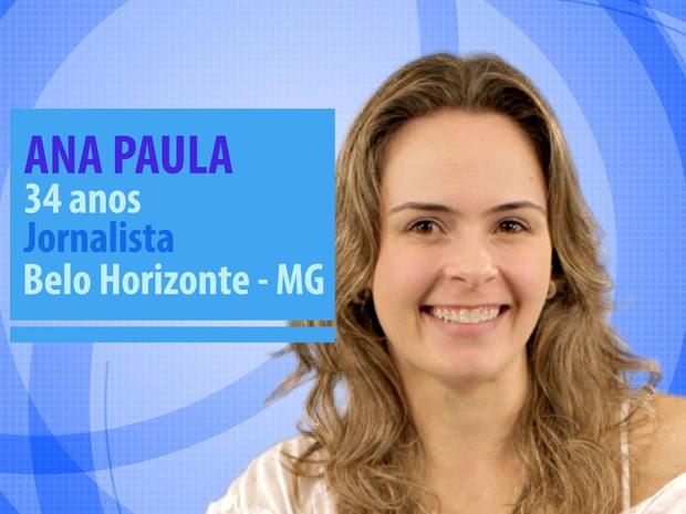 A jornalista Ana Paula está entre as novas participantes do BBB 16 (Foto: Divulgação/Globo)