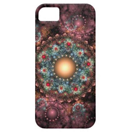 Ornate Brooch Fractal Art iPhone 5 Covers