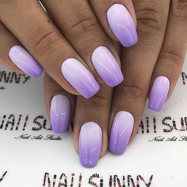 Neon Pink And Green Ombre Nails - Nail and Manicure Trends