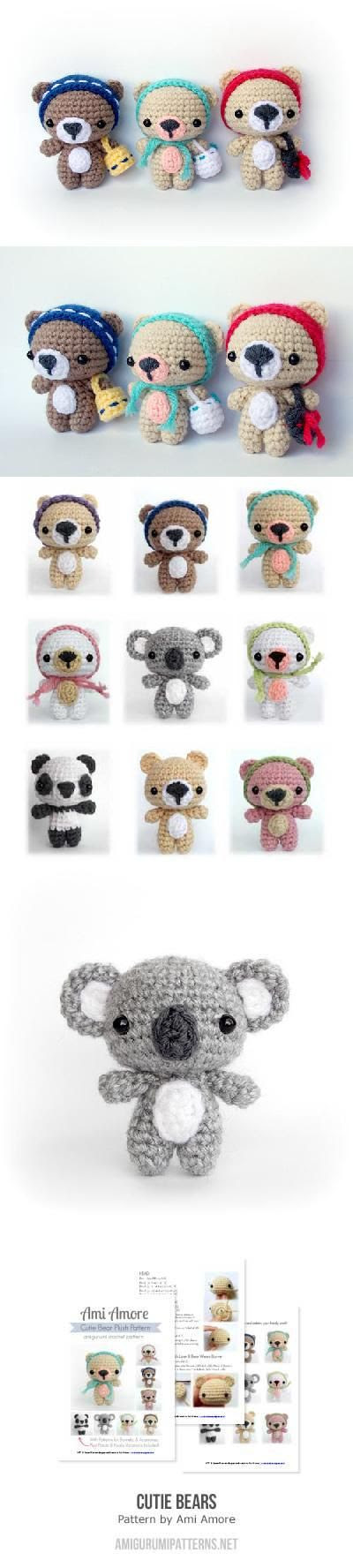 This is like a $6 pattern but oh so cute i love that they are little.. Found at Amigurumipatterns.net