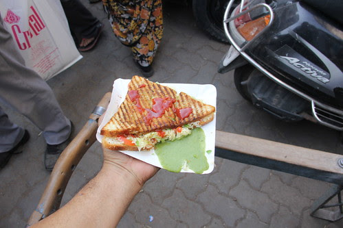 I Have My Lunch At  Apsara Sandwich Corner Crawford Market by firoze shakir photographerno1