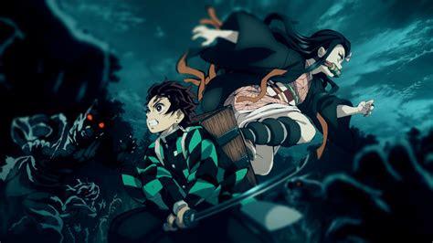 tanjirou  nezuko anime demon slayer kimetsu  yaiba