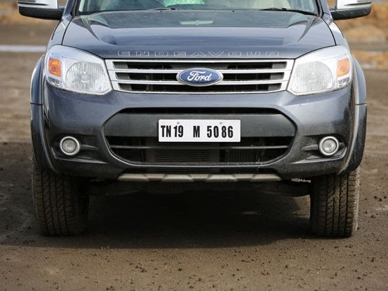 Ford Endeavour India facelift grille
